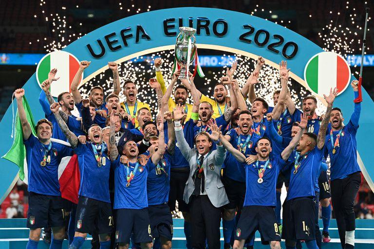 Italia se consagró campeón de Europa en Wembley