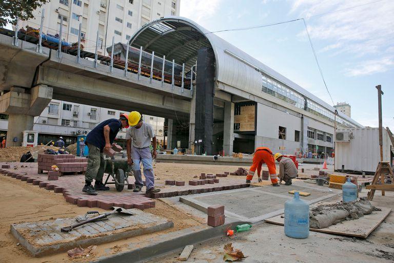 La obra del viaducto Mitre se inaugurará el viernes