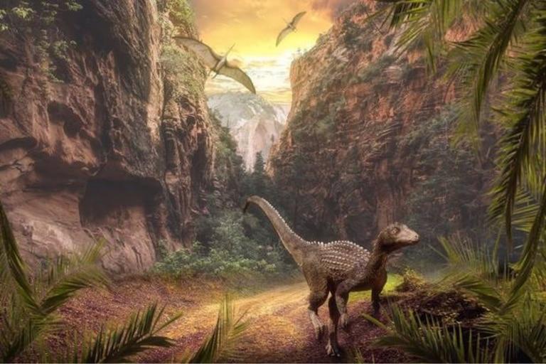 Revelan que la actividad volcánica favoreció la proliferación de los dinosaurios