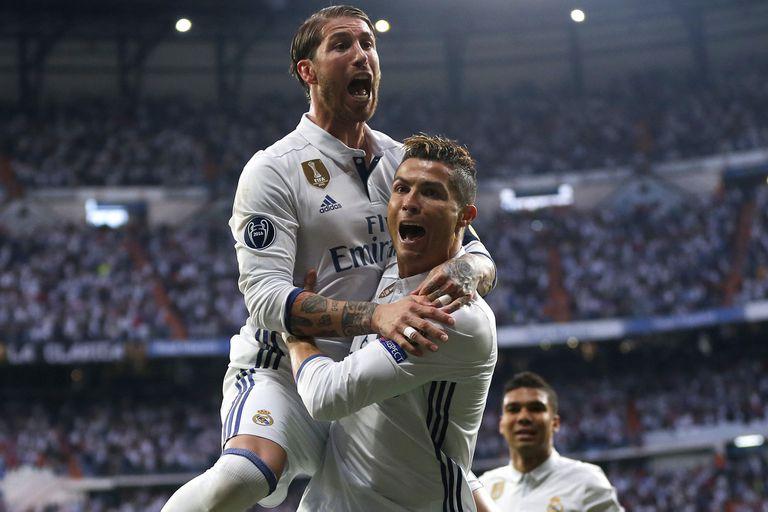 Cristiano, de la despedida de Sergio Ramos a la bienvenida de Paulo Dybala