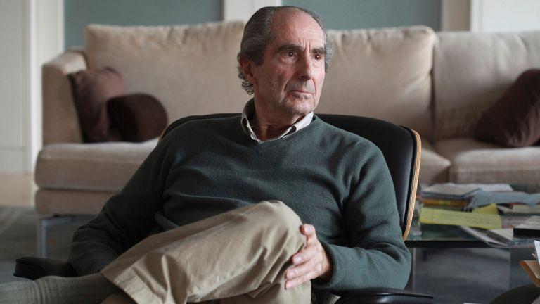 El estadounidense Philip Roth