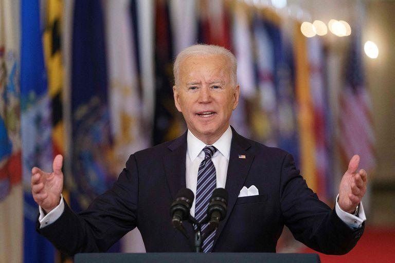 Joa Biden, en un discurso de esta noche