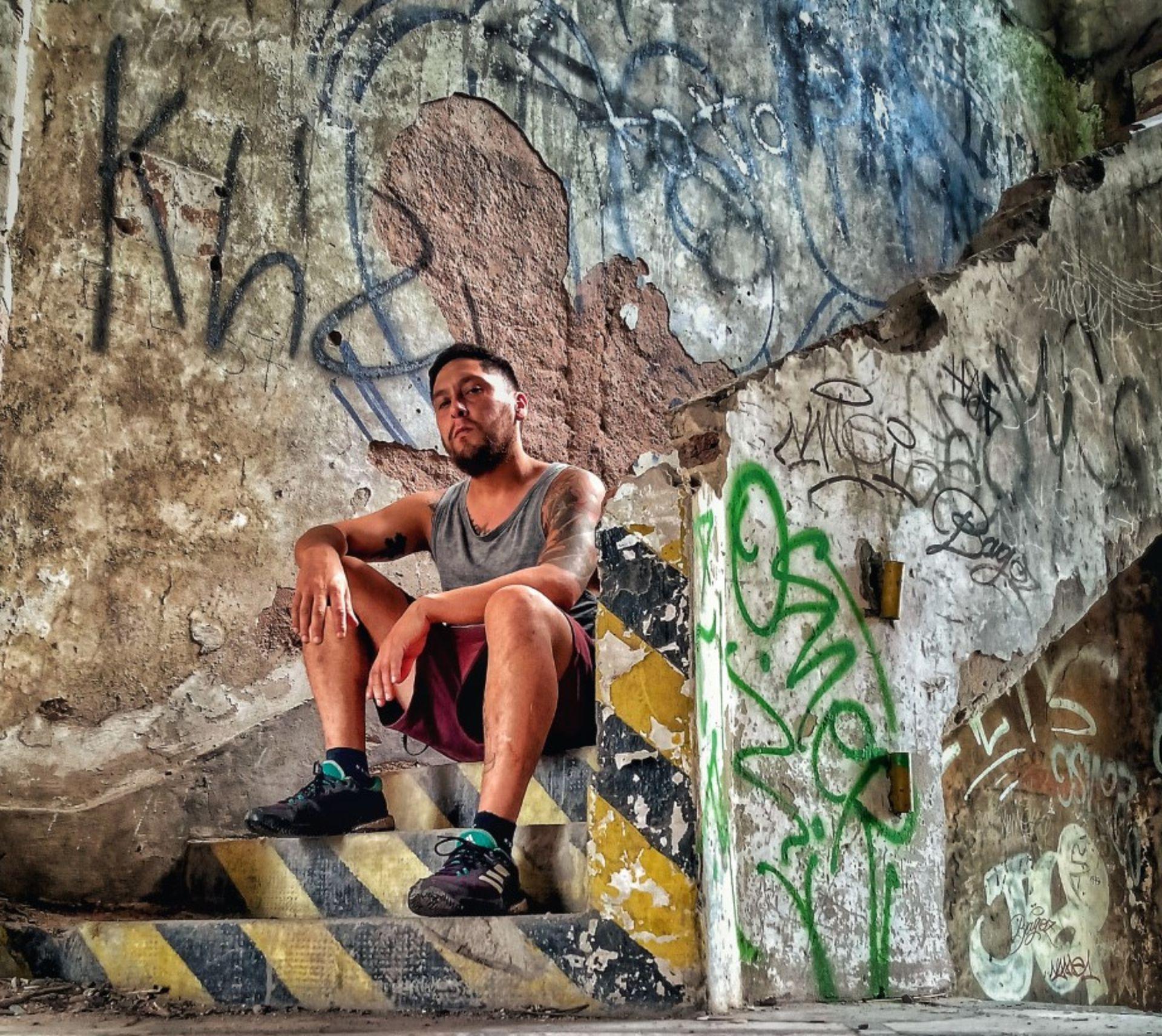 Sebastián Nuñez, un explorador que a pesar del miedo visitó el lugar en ocho oportunidades.