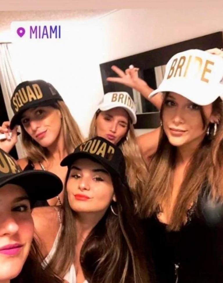 Camila Rodríguez, cuñada de Barbie, compartió algunas fotos y videos en sus redes