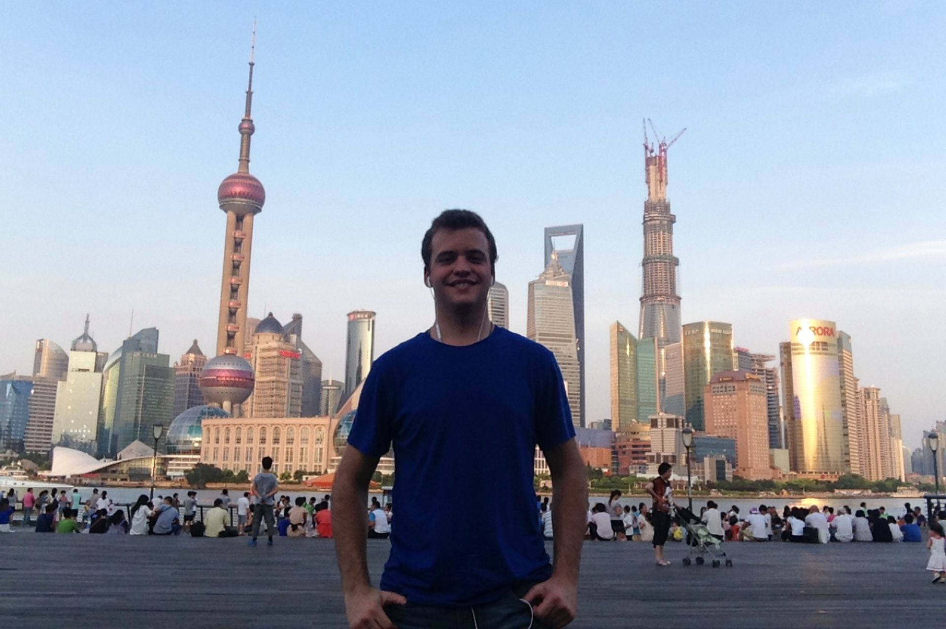 Primeros momentos en Shanghai