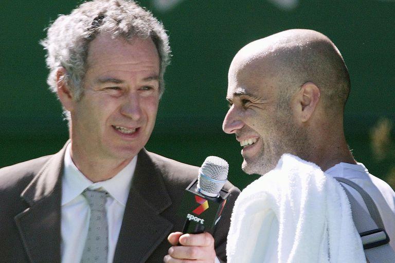"""Con John McEnroe: dos """"rebeldes"""" del tenis que llegaron a compartir equipo en la Copa Davis"""