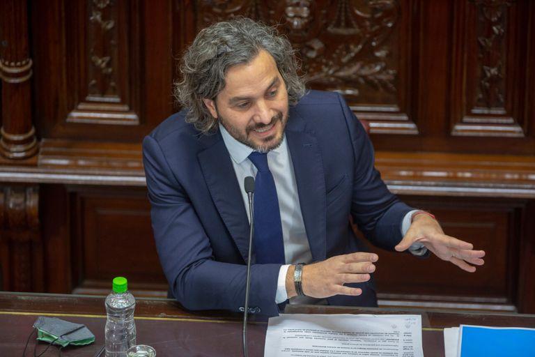 Santiago Cafiero inició su presentación ante el Senado con críticas a Horacio Rodríguez Larreta y la Corte Suprema - Rodrigo Néspolo