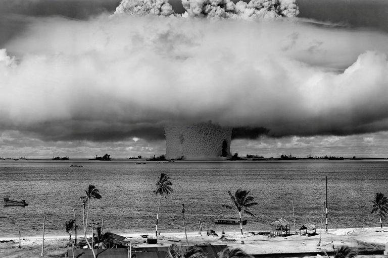 El plutonio es el componente principal de una bomba atómica