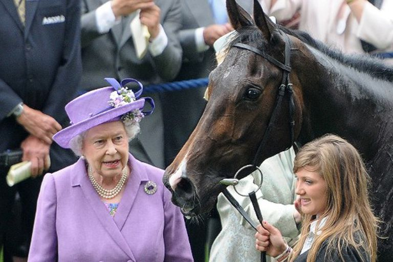 La Reina Isabel II invierte unos 1.200.000 euros por año en la pasión que heredó de uno de sus abuelos y de su padre: los caballos