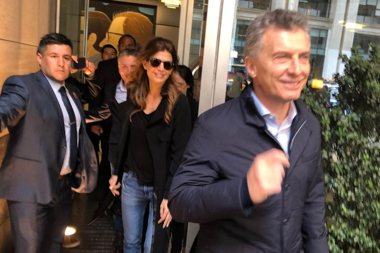 """""""Vamos a contarles a todos el buen futuro que tienen los argentinos"""", dijo el Presidente"""