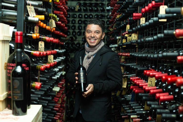 Marcelo Gallardo ya tiene vino propio para brindar: se llama MG y cuesta 4768 pesos