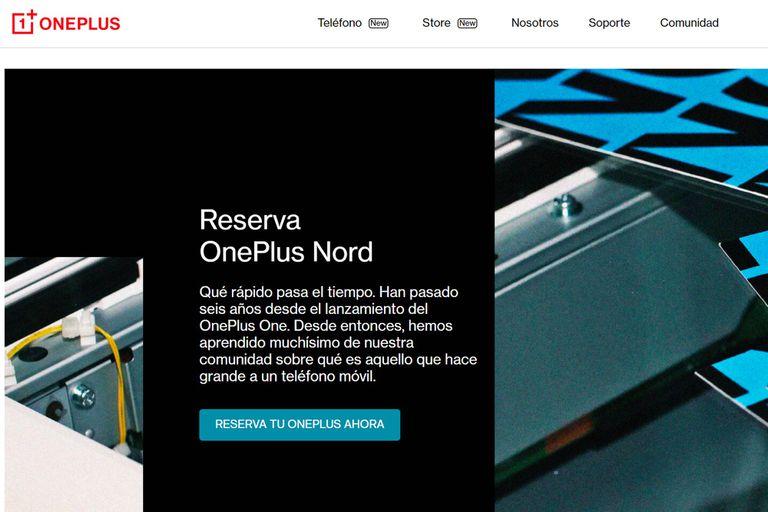OnePlus Nord será un smartphone de precio accesible, disponible para el mercado de Europa y la India, con ventas limitadas y exclusivas en Estados Unidos