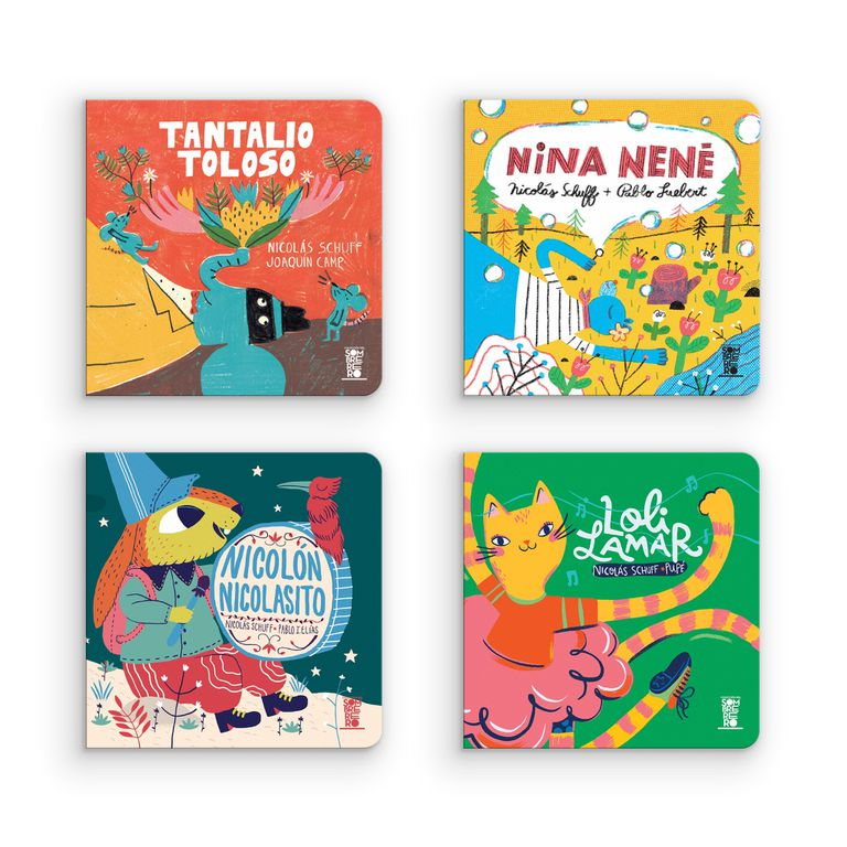 Los cuatro libritos de la nueva colección de Lecturita