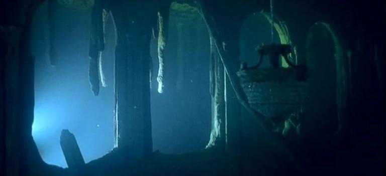 Los salones del Titanic sólo reciben especies marinas y submarinos desde hace más de 100 años.