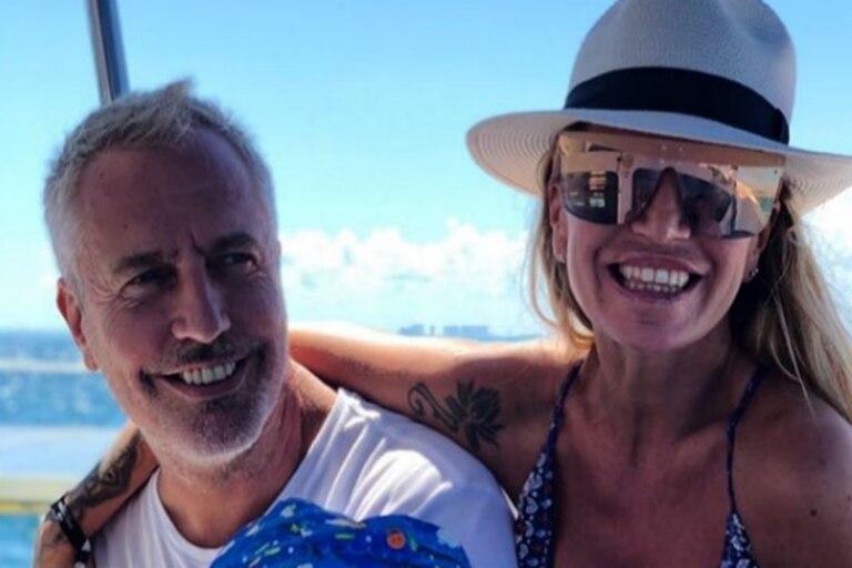 Las lujosas vacaciones de Florencia Peña y Marley en el interior del país
