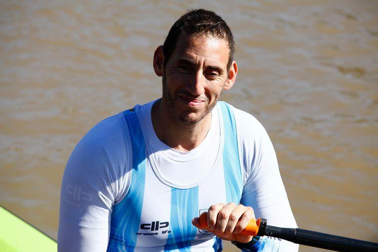 Ariel Suárez, remero olímpico en Río de Janeiro 2016 y que no descarta participar el año que viene en Tokio 2020.