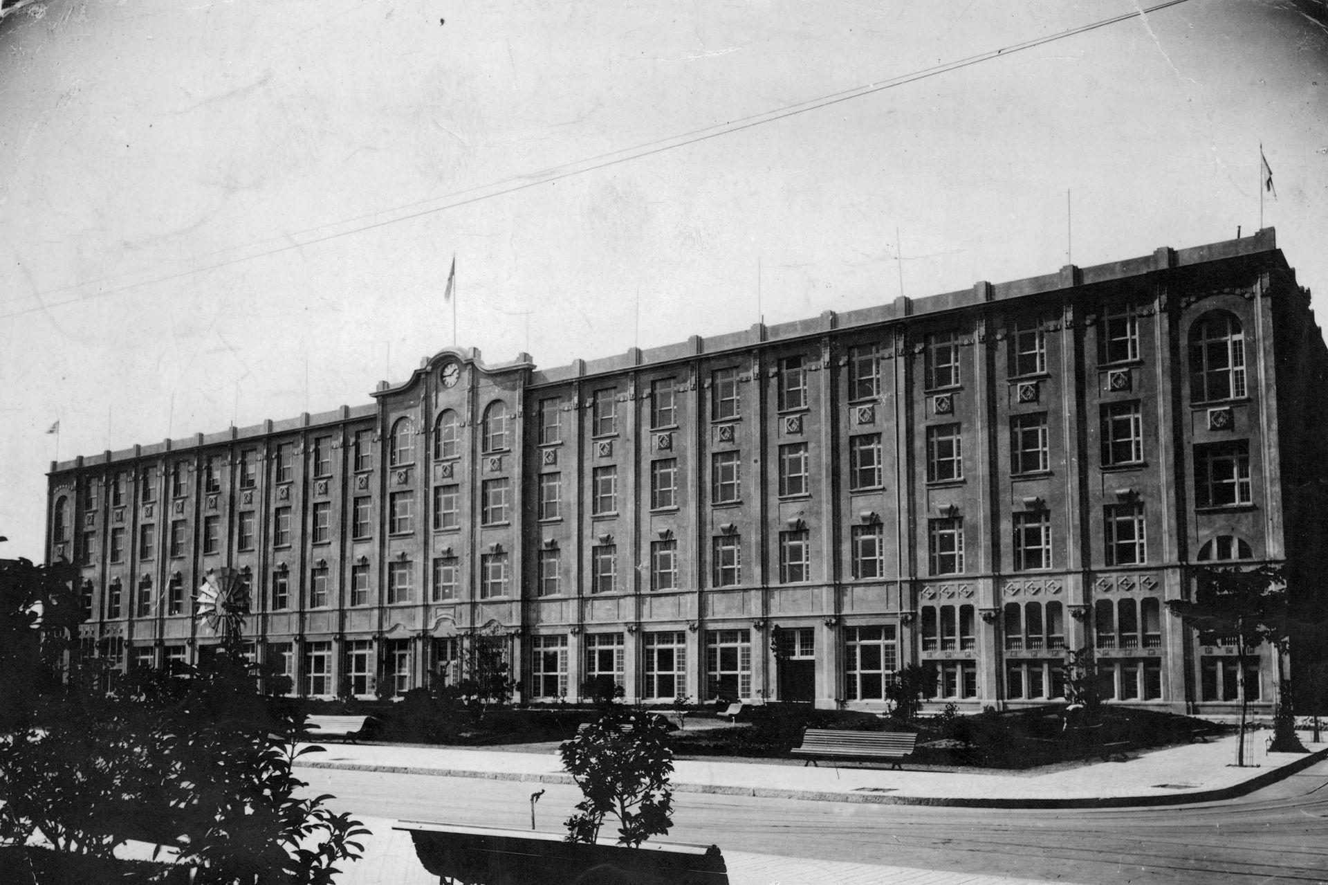El hotel se terminó de construir en 1911
