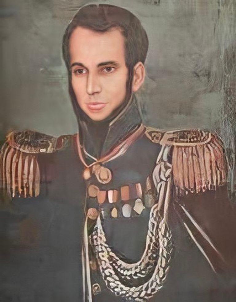 El coronel Isidoro Suárez, guerrero de la Independencia. En algunas biografías figura como Manuel, pero es un error.