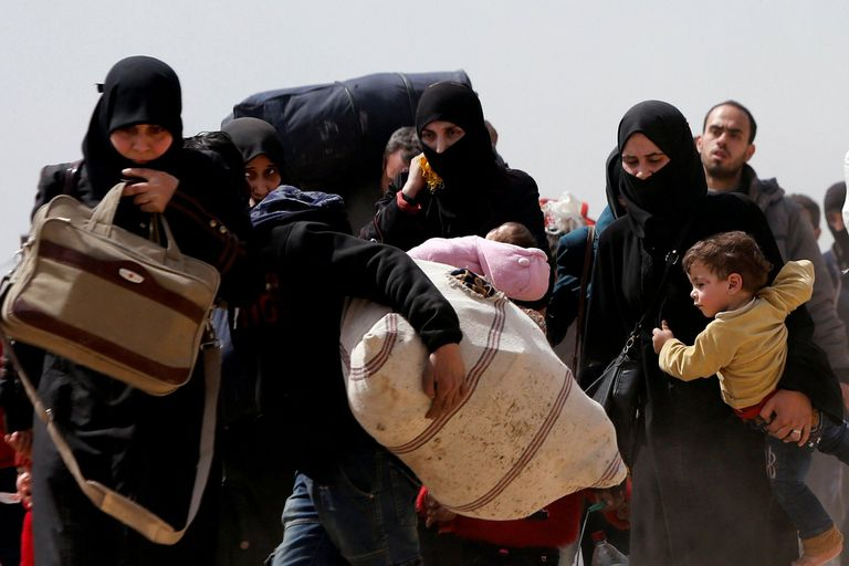 Estalla otra crisis humanitaria en Siria