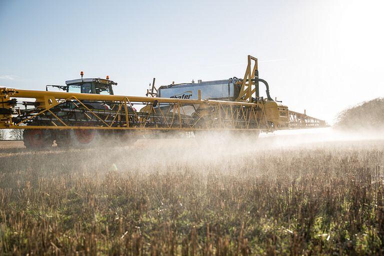 Se necesita 21% menos de soja que el promedio de los últimos tres años para comprar 100 litros de glifosato