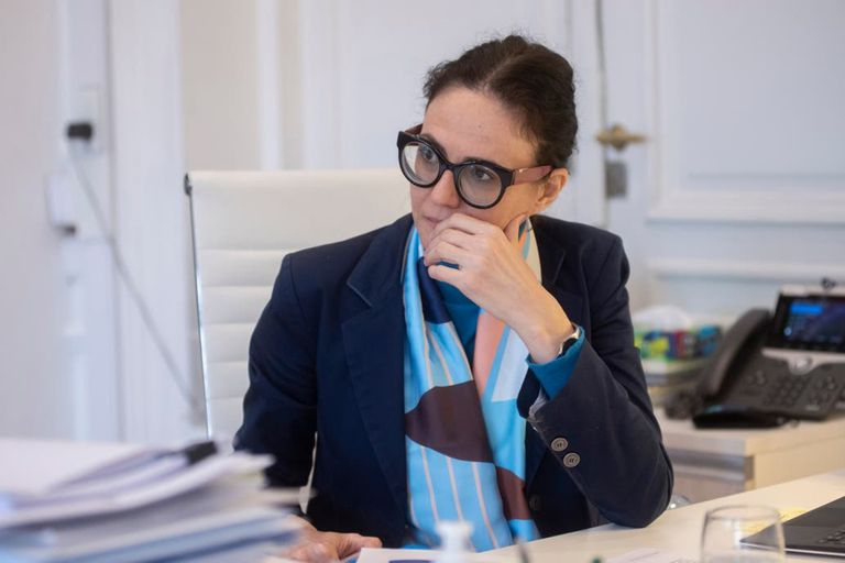 """La vicejefa de Gabinete, Cecilia Todesca, sobre las retenciones: """"Yo no descarto nada"""""""