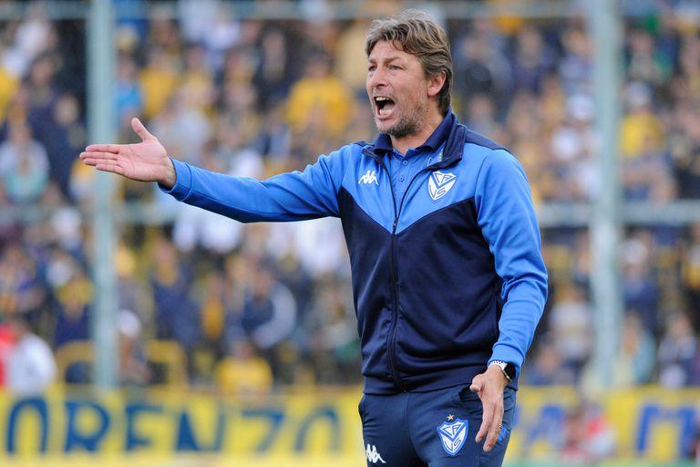Gabriel Heinze y un muy buen trabajo al frente de Vélez