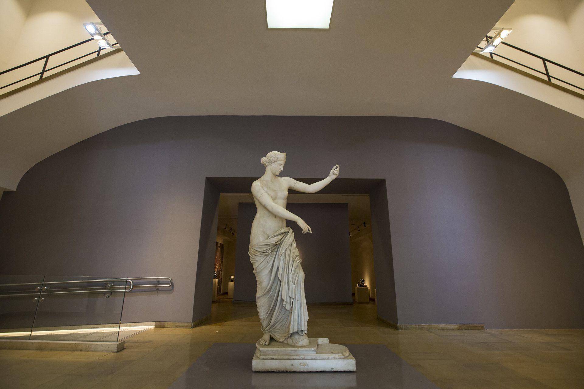 Afrodita de Capua (117 al 138 d. C.), exhibida en el MNBA en 2018/19