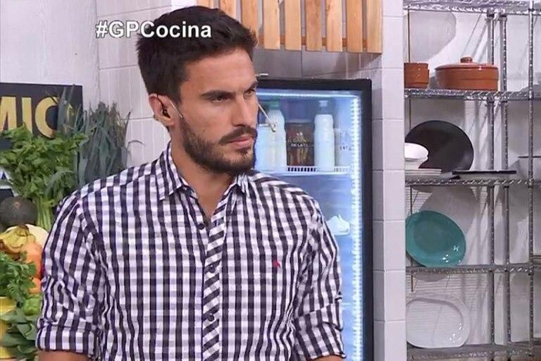 Juan Marconi, quien conduce El gran premio de la cocina junto a Carina Zampini, cometió un cómico error al hablar sobre uno de los platos del día