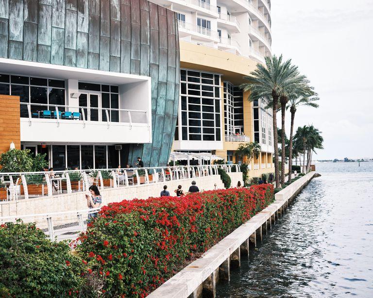 Uno de los paseos costeros en Miami