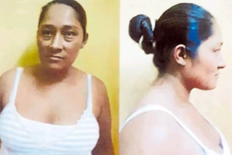 Primitiva Hilanco Condori, de nacionalidad boliviana, fue detenida en Mendoza; tenía un pedido de captura por el delito de transporte de estupefacientes; había sido juzgada por el Tribunal Oral Federal de Santiago del Estero, pero durante el proceso había utilizado el nombre y apellido de otra mujer