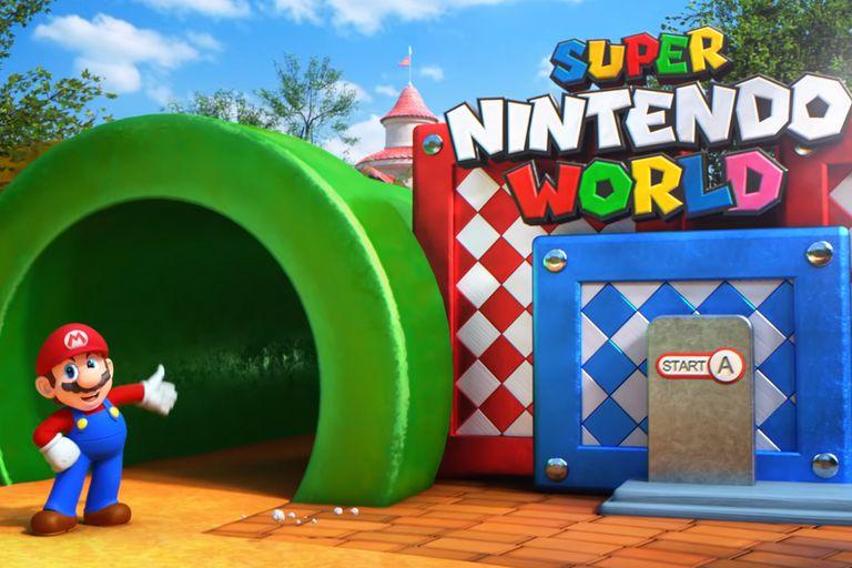 Super Nintendo World: así será el nuevo parque temático de Universal Studios