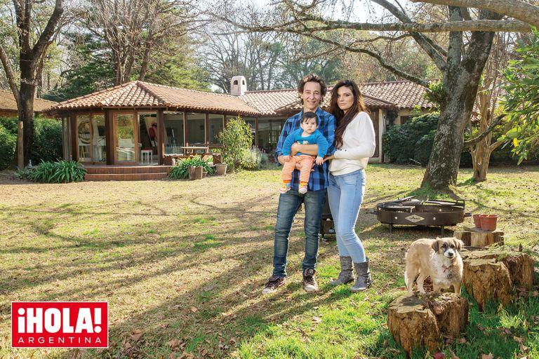 Javier Calamaro nos presenta a su hija Sacha, de ocho meses y medio
