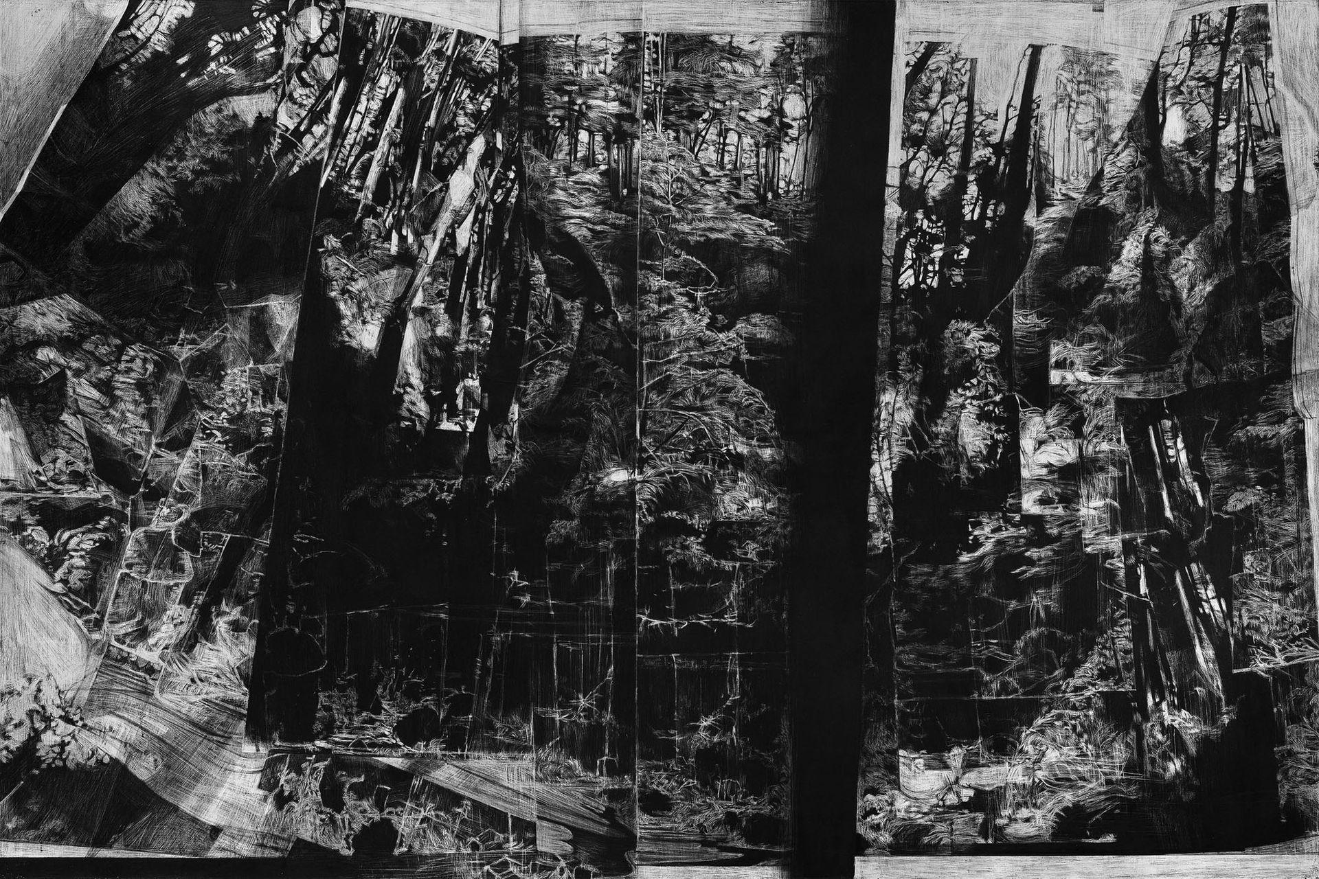 """""""Sin título"""" (2016), de Matías Ercole. Galería Miranda Bosch, Sección Principal"""