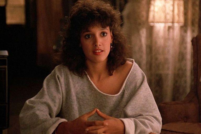 Jennifer Beals en Flashdance, la película que la catapultó a la fama