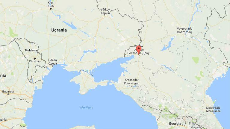 Rostov del Don está pegado a Ucrania