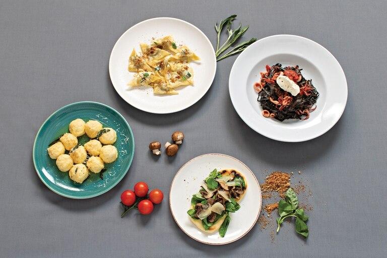 Los platos de Milton Bertoni