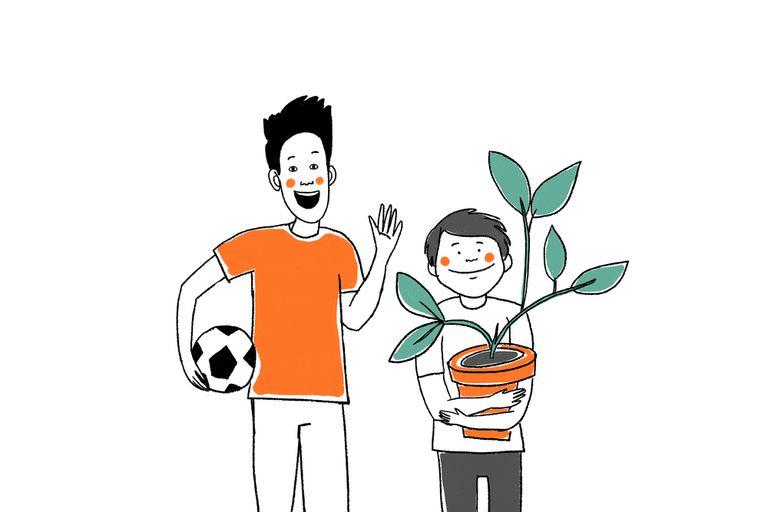 Damián y Gonzalo, dos hermanos adolescentes que siguen soñando con una familia