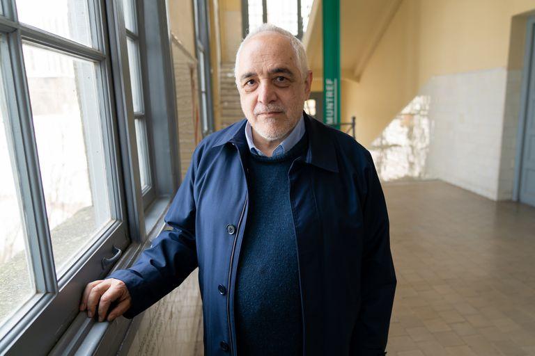"""En su primera visita a la capital de Italia, el artista argentino presentó """"Ulises inmigrante. Una fantasía gráfica"""""""