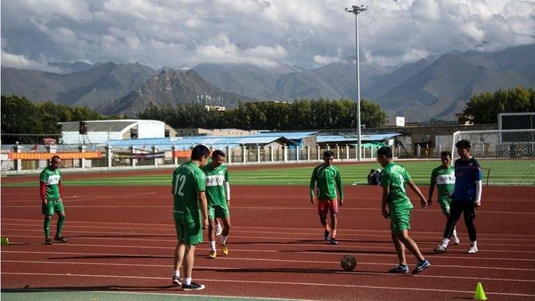 Lhasa Chengtou el equipo del Tibet que ingreso a jugar en la Liga China