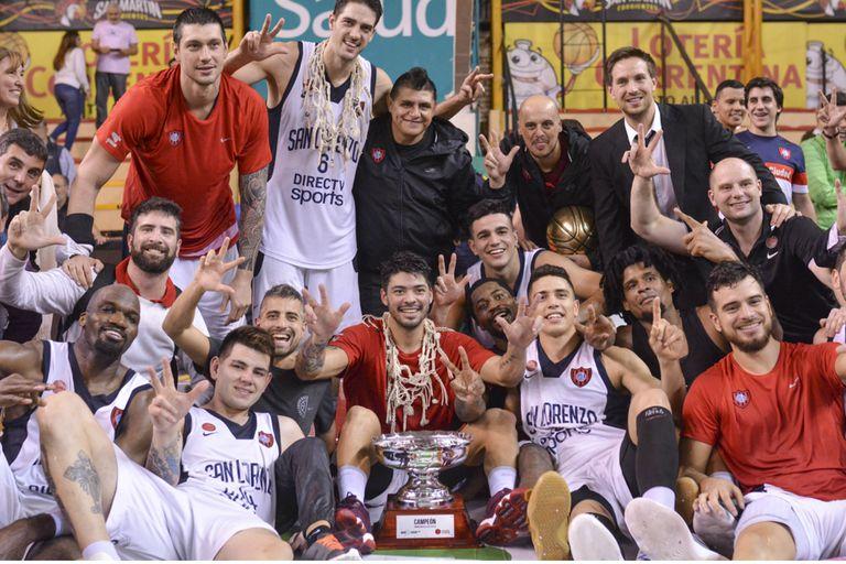 Todo azulgrana: San Lorenzo, otra vez campeón de la Liga