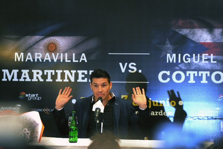 Maravilla volvió a vaticinar una victoria ante Cotto