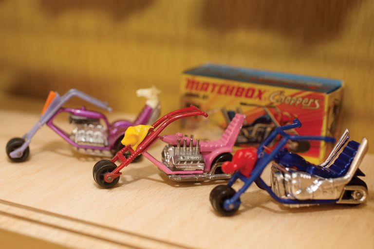 Coppers antiguas de Matchbox.