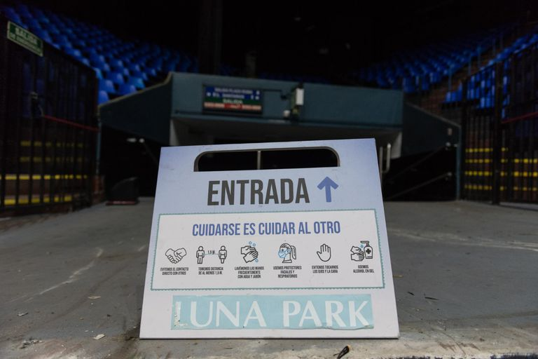 """""""La decisión de colaborar con el Gobierno porteño es independiente de la situación económica del Luna Park"""", aclara Barrionuevo"""