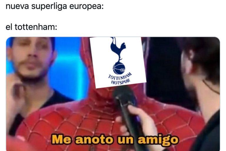 Los mejores memes sobre la Superliga europea, la novedad que sacude al fútbol