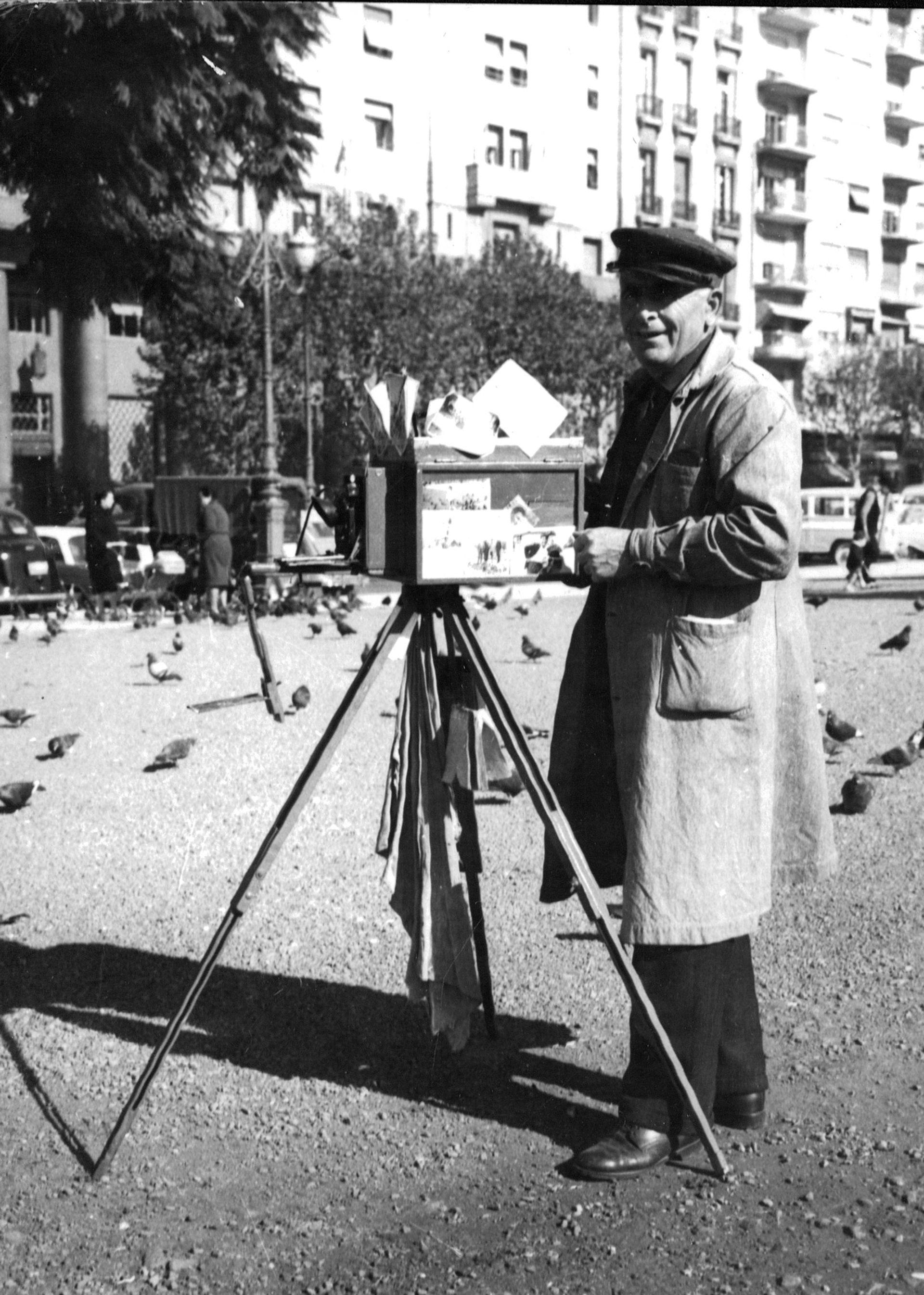 Fotógrafo de Plaza.