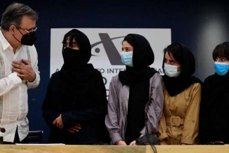 Las Soñadoras afganas, el equipo de robótica que recibió asilo en México