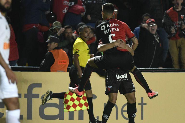 Colón derrotó a Atlético Mineiro en la primera semifinal de la Copa Sudamericana