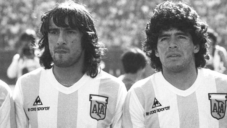 José Valencia. Las lágrimas por Maradona y su único recuerdo del Mundial 78
