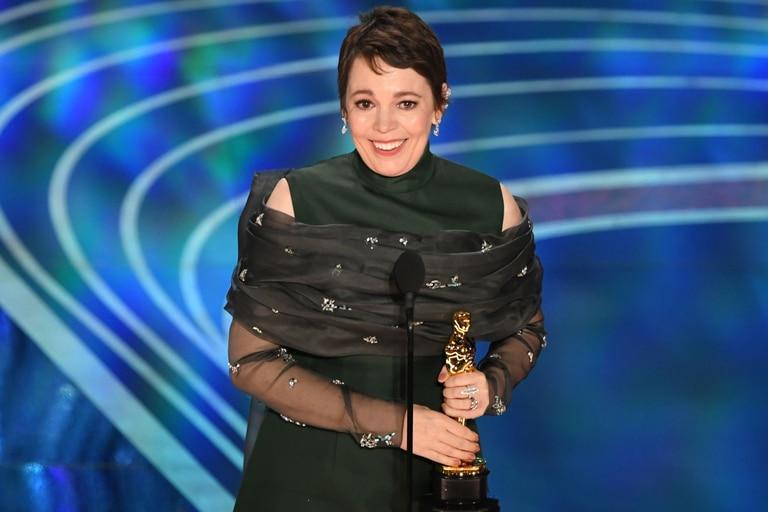 Sorprendente: Olivia Colman reveló el extraño lugar donde guarda su premio Oscar