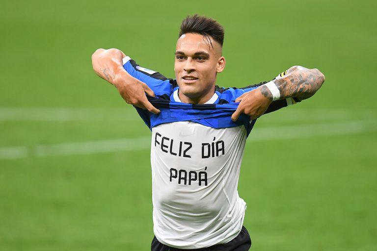 El regreso de Lautaro: pase de taco y gol para la victoria de Inter en Italia